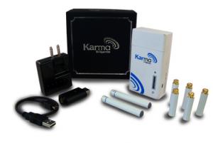 Premium White Electronic Cigarette Starter Kit