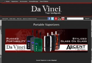 Step1 to Enter Davincivaporizer Coupon Code
