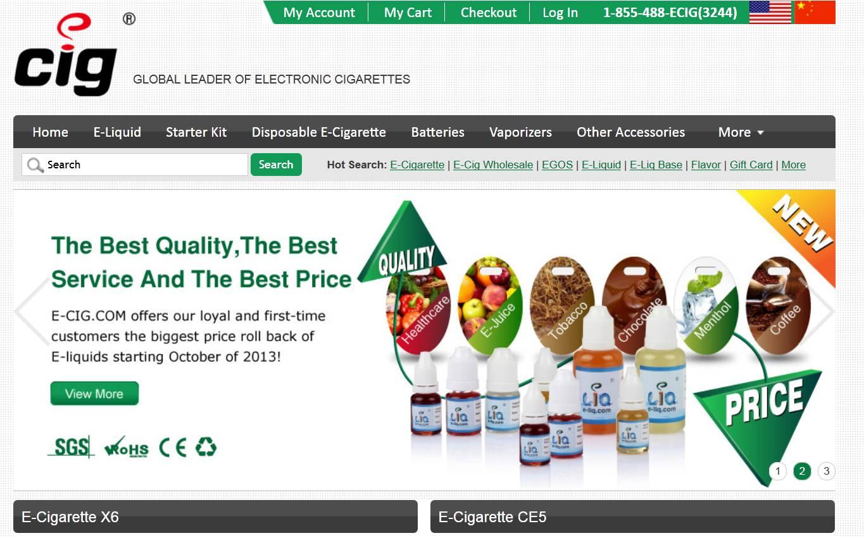 Ecig.com Coupon (20% Off)