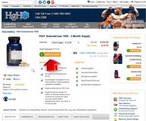 Step2 to Enter HGH.com Coupon Code