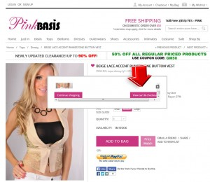 Step3 to Enter Pinkbasis Coupon Code