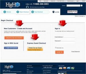Step5 to Enter HGH.com Coupon Code