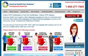 Step2 to Enter CPRAEDCourse Coupon Code