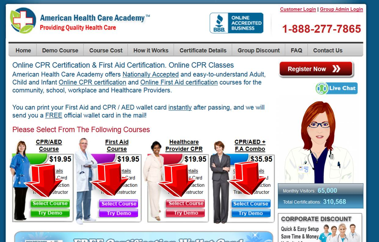 American Academy Of Cpr Promo Code Coupon Code