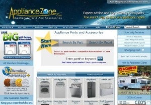 Step1 to Enter Appliance Zone Coupon Code