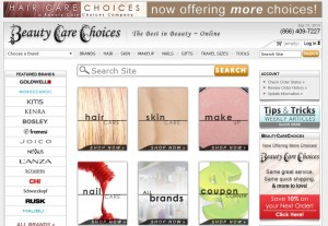 Step1 to Enter Hair Care Choices Coupon Code