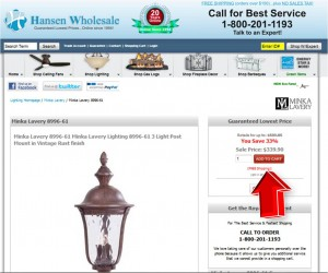 Step2 to Enter Hansen Wholesale Coupon Code