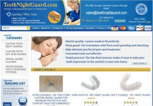 Step1 to Enter TeethNightGuard Coupon Code