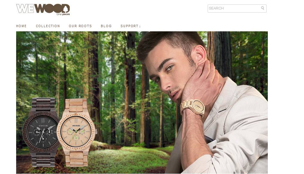 WeWood markets a line of personal time pieces that have been hand crafted out of scrap wood. When promotional offers and coupon codes are available for their products, you will find them on the official WeWood homepage.