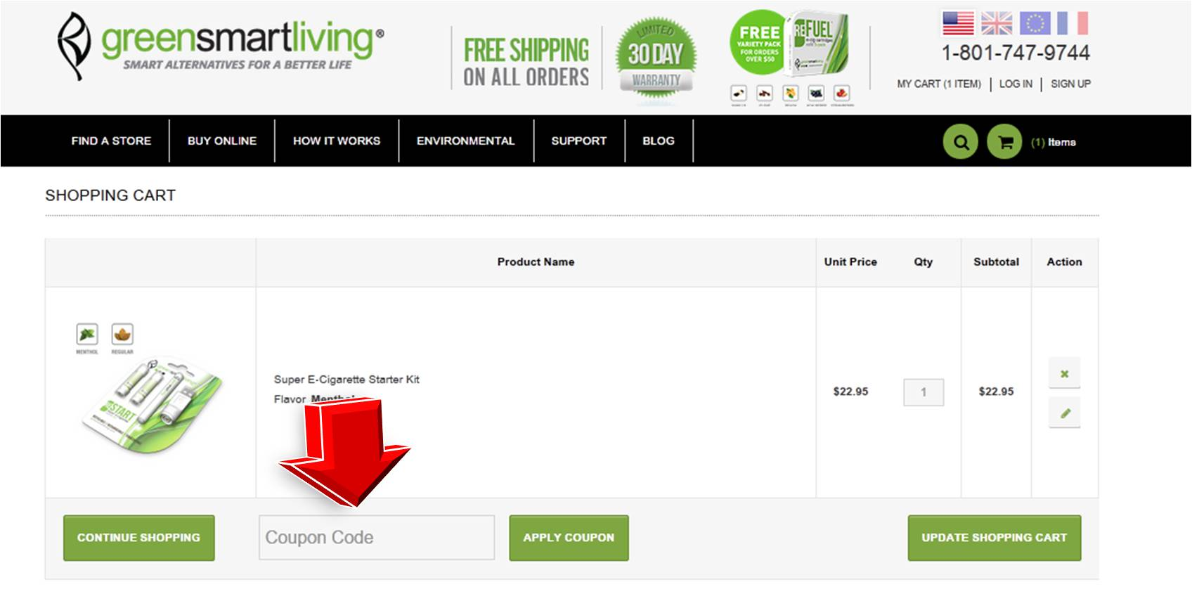 GreenSmartLiving is committed to creating a positive human impact, improving the quality of lives and protecting the environment by providing smart, simple and effective life improvement choices: Rechargeable electronic cigarette, Cartridge refills in HIGH and LOW nicotine strengths, Car & wall charger accessories, Carrying case, Hangover prevention supplement.