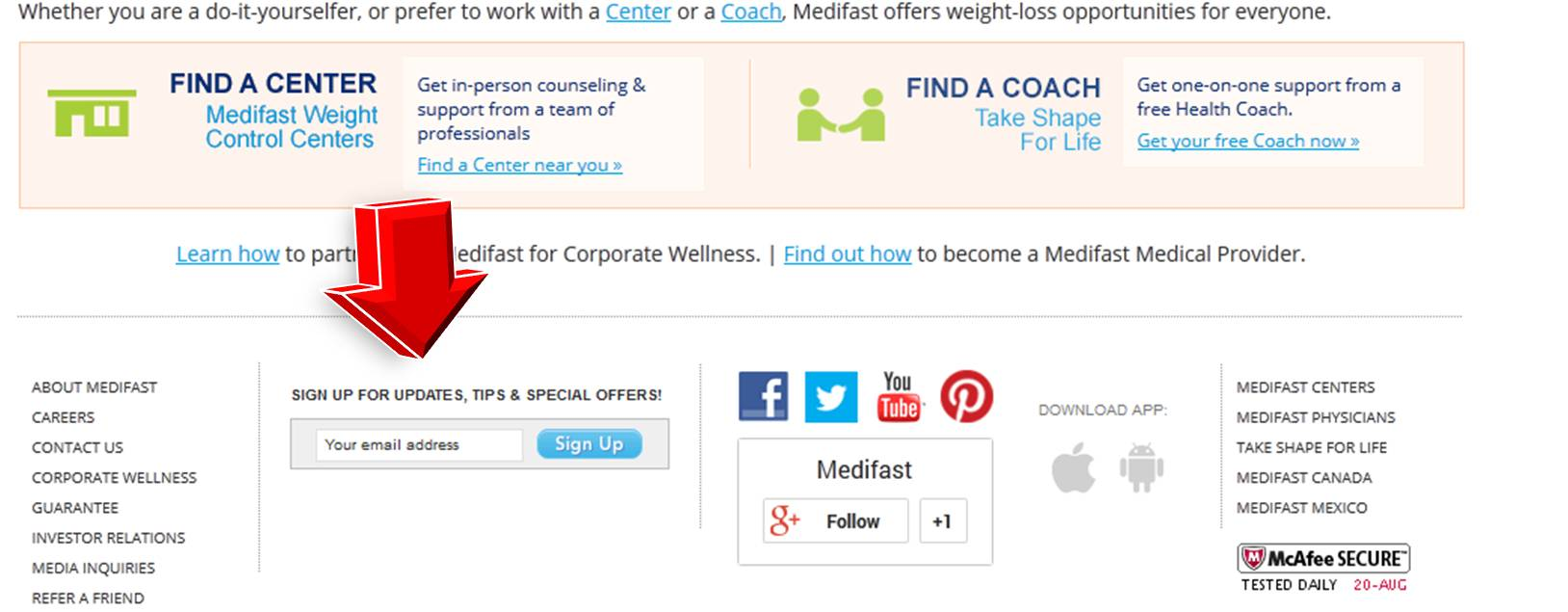 Medifast coupon code