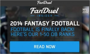 2014 Fantasy Football QB, RB and WR Rankings