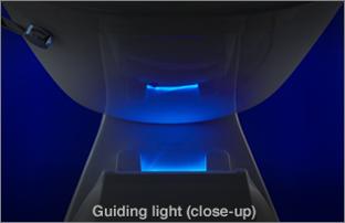 Guiding Light Toilet Seat