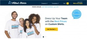 Step1 to Enter Allied Shirts Coupon Code