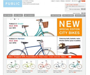 Step1 to Enter Public Bikes Coupon Code