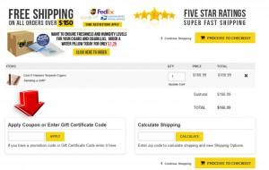 Step3 to Enter FloridaTobaccoShop Coupon Code