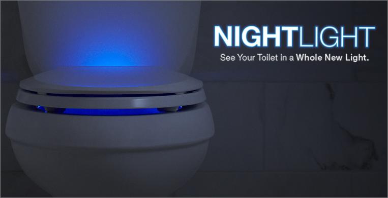 Toilet Seats with Nightlight