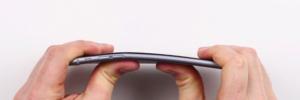 iPhone 6 Plus Bendable