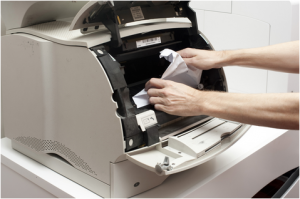 How to Fix a Printer or Copier Paper Jam