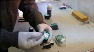 Using Pump Method to fix a Clogged Inkjet Cartridge