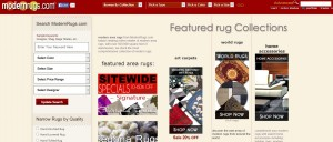 Step1 to Enter ModernRugs Coupon Code