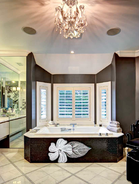 Design your Bathroom become in full bloom