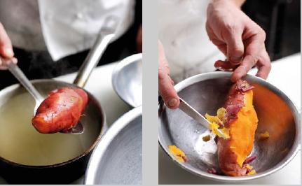 How to Boil Sweet Potato