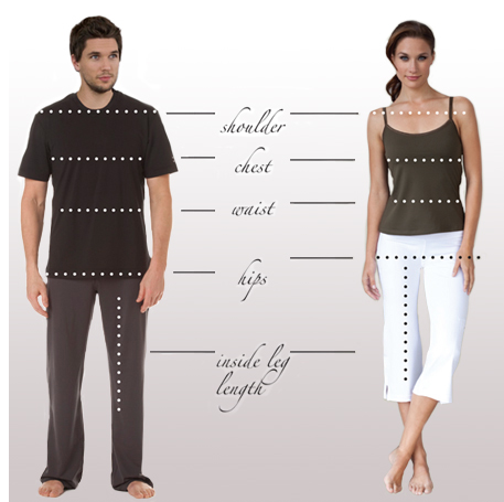 How to Measurements your Uniform from NoelAsmarUniforms store
