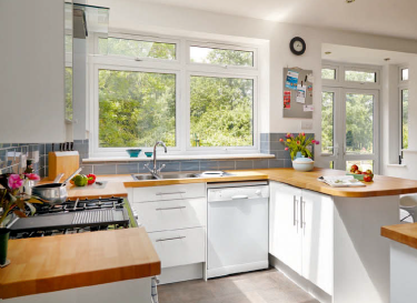Make your kitchen space become much more useable