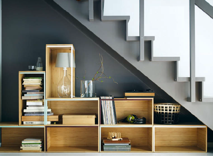Select clever storage to make the most of your space