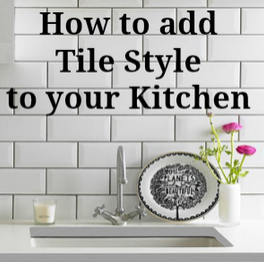 Tips to add style with tiles