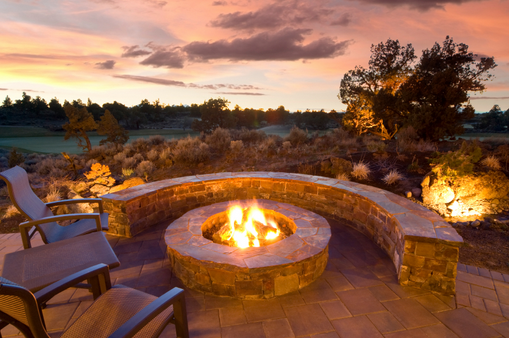 Fire pits ideas for outdoor party