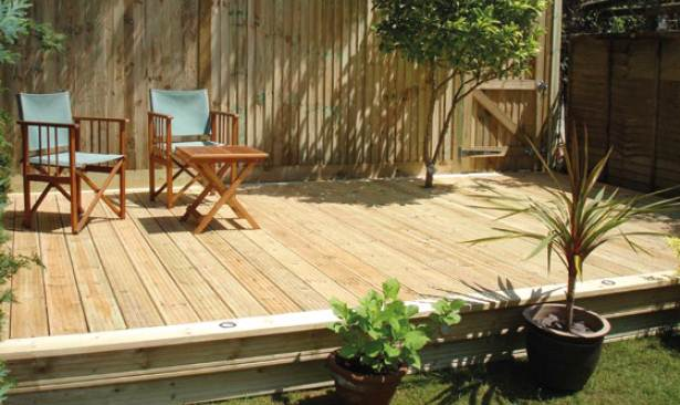 Renovation Idea for Outdoor Patio & Decking