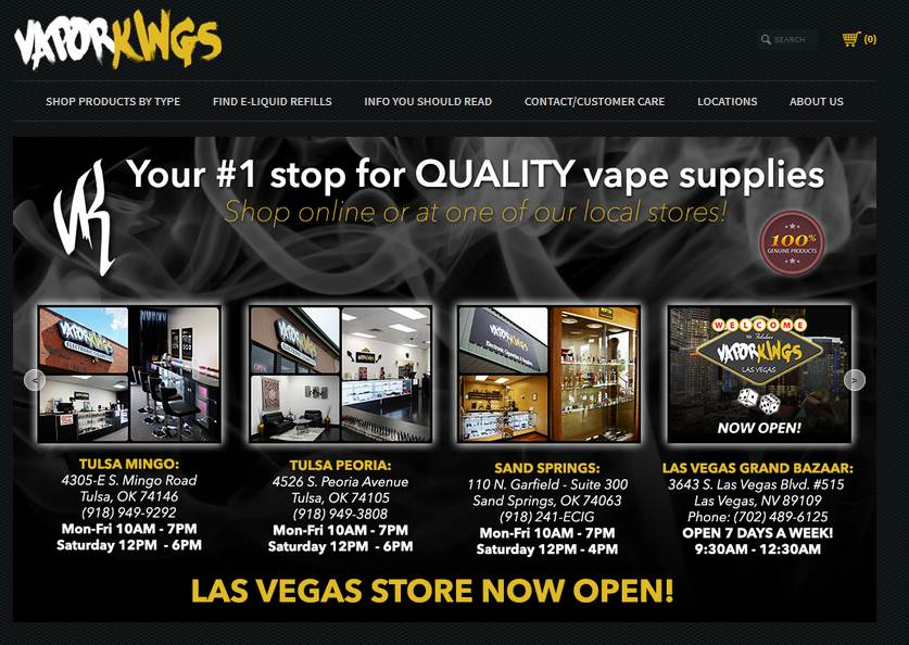 Step1 to Enter VaporKings Coupon Code